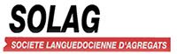 Agrégats, graviers décoratifs, sables et graviers Hérault – SOLAG Logo