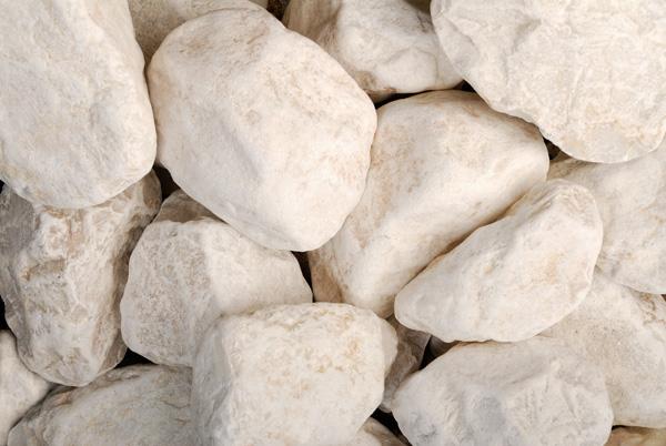 Galet Semi Concasse Blanc